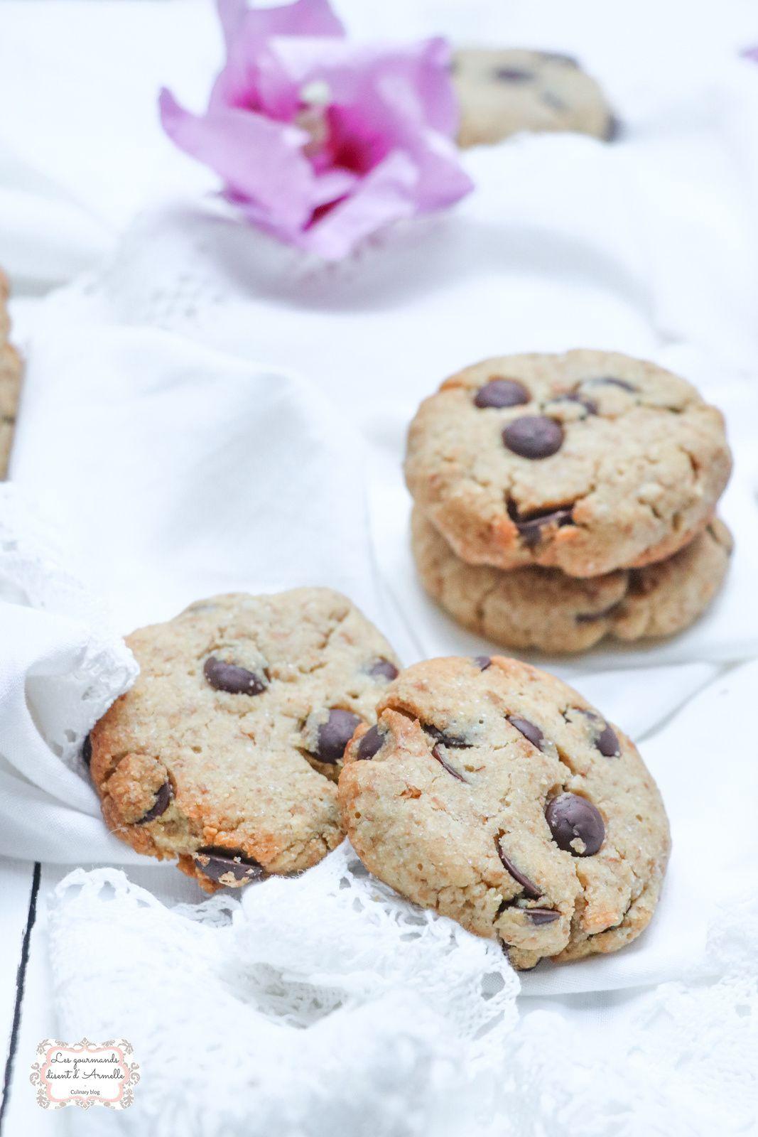 Cookies vegan à la purée de cacahuète @ Les gourmands {disent} d'Armelle