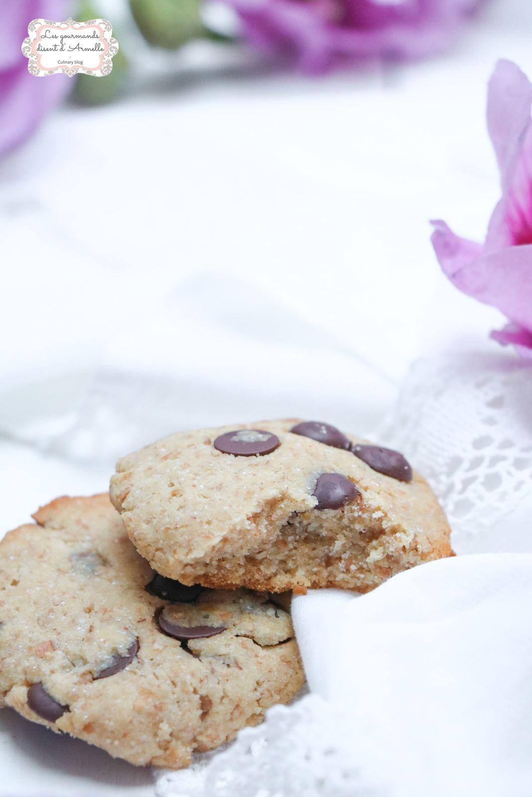 Cookies au beurre de cacahuète @ Les gourmands {disent} d'Armelle