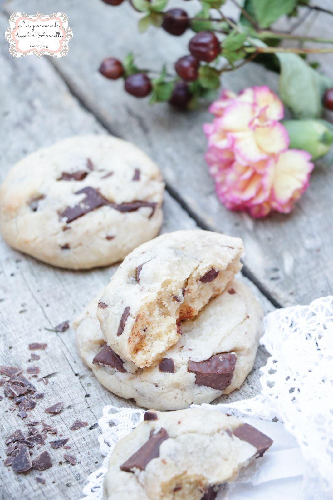 Cookies au chocolat au lait @ Les Gourmands {disent} d'Armelle