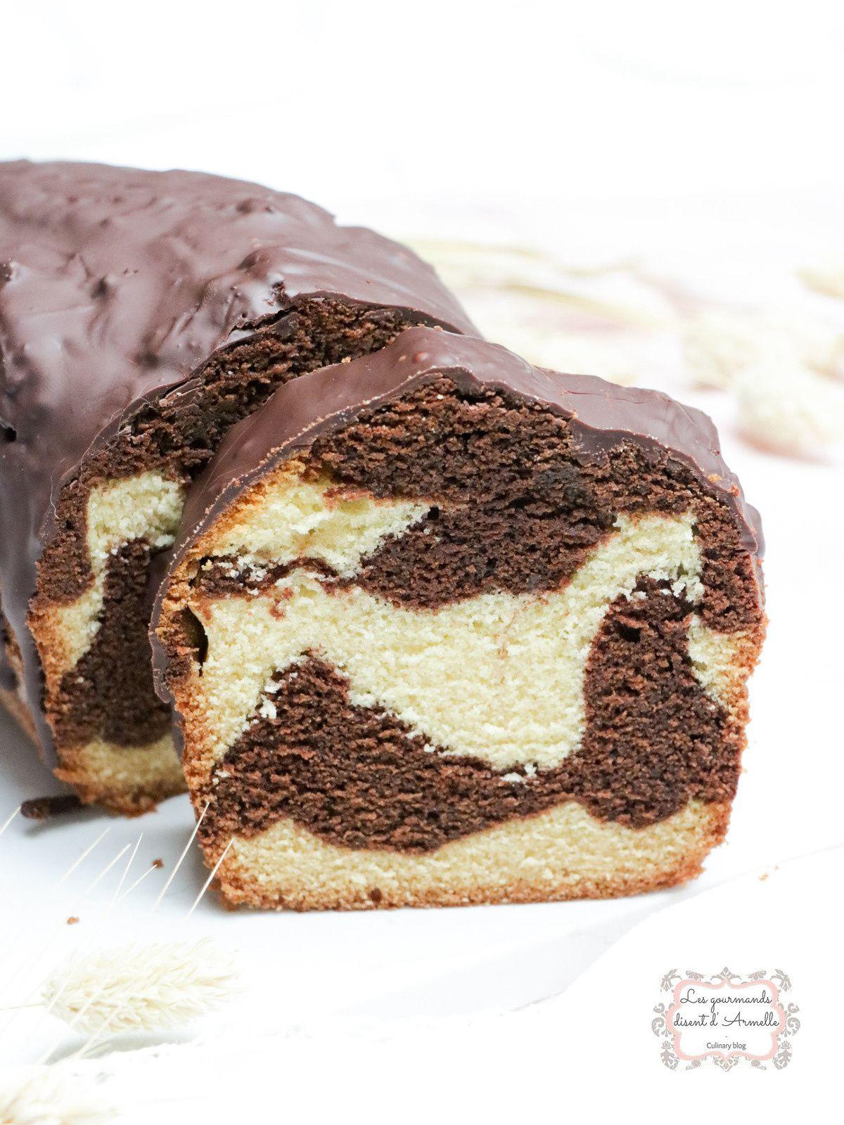 Cake marbré comme un savane @ Les Gourmands {disent} d'Armelle