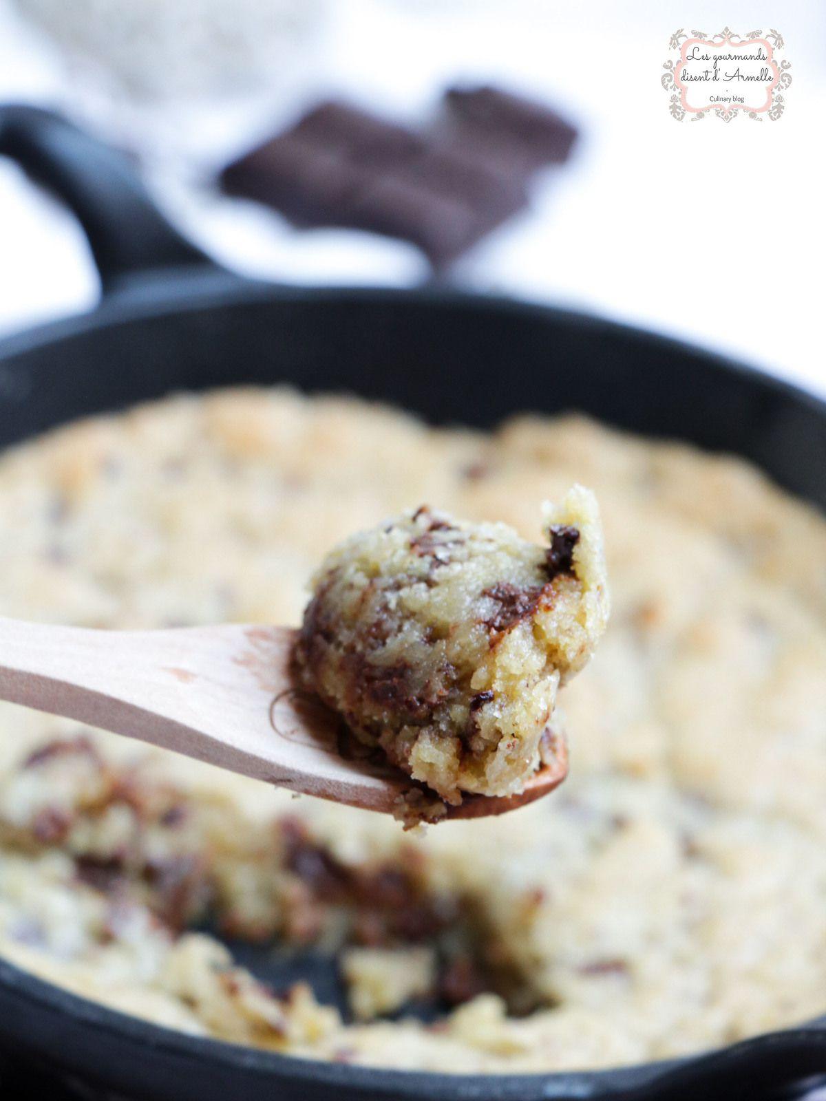 Cookie géant à partager @ Les Gourmands {disent} d'Armelle