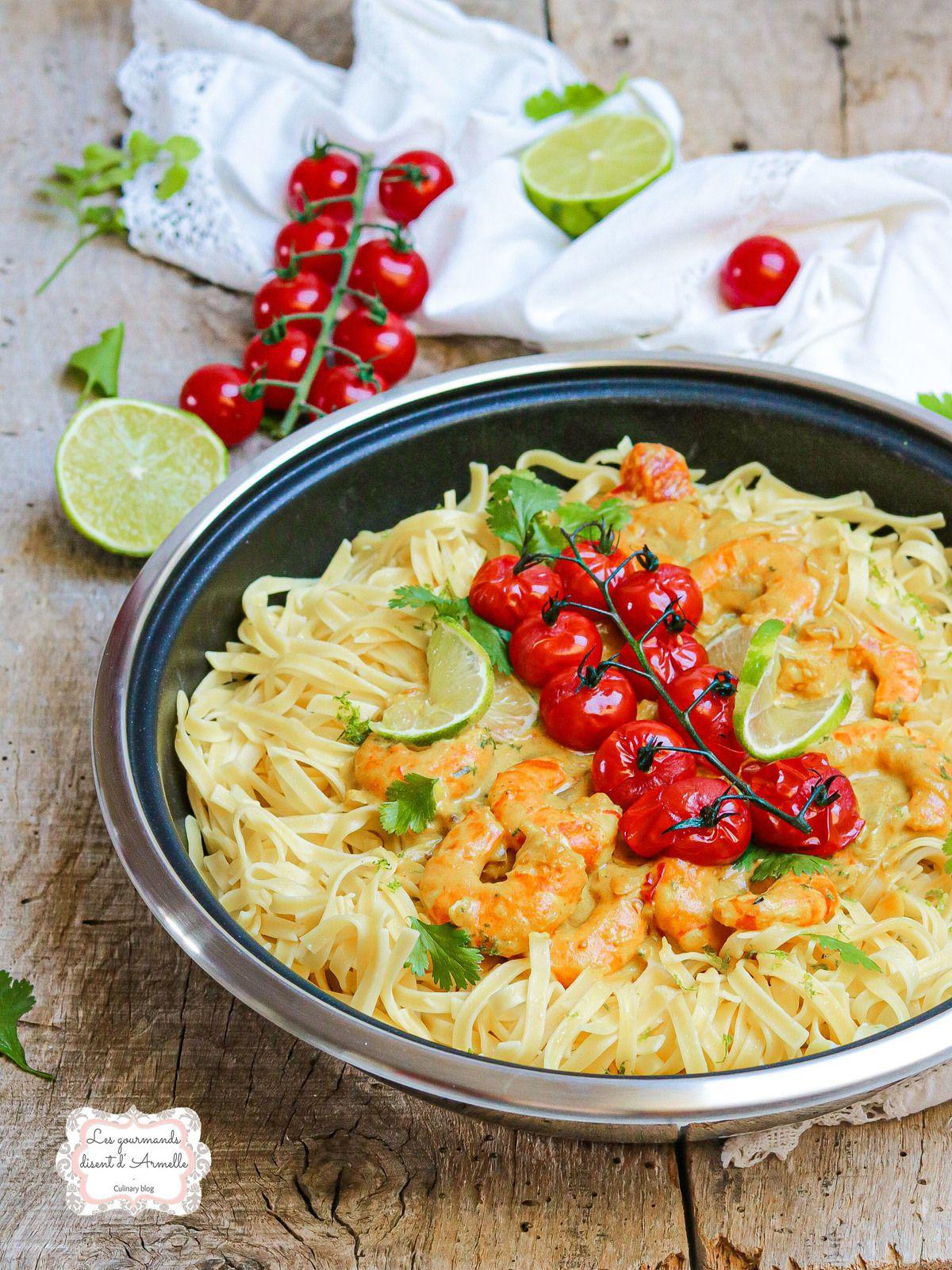 Curry de crevettes au coco @ Les Gourmands {disent} d'Armelle