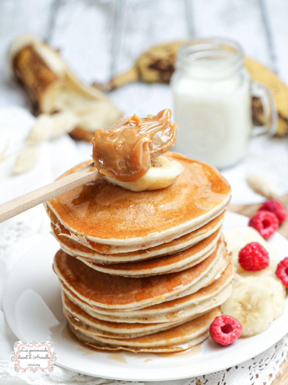 Pancakes à la banane @ Les Gourmands {disent} d'Armelle