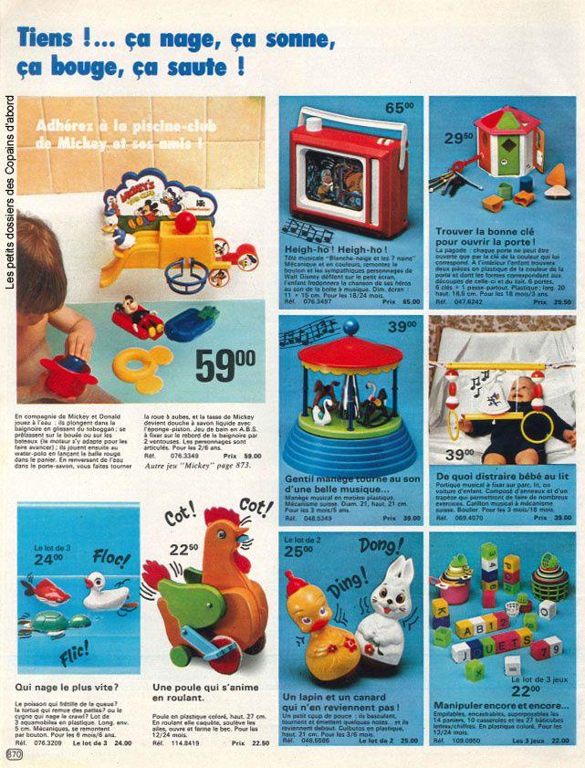 Les jouets du catalogue La Redoute 1978-79 par Nath-Didile