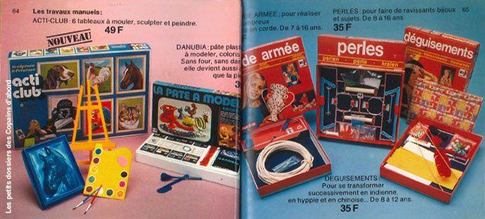 Le catalogue de jouets des Nouvelles Galeries de 1974 par Nath-Didile