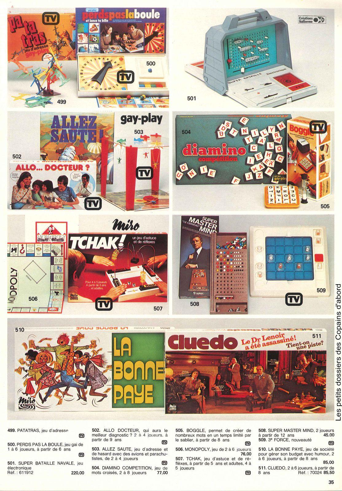 Le catalogue de jouets Axe de 1979 par Nath-Didile
