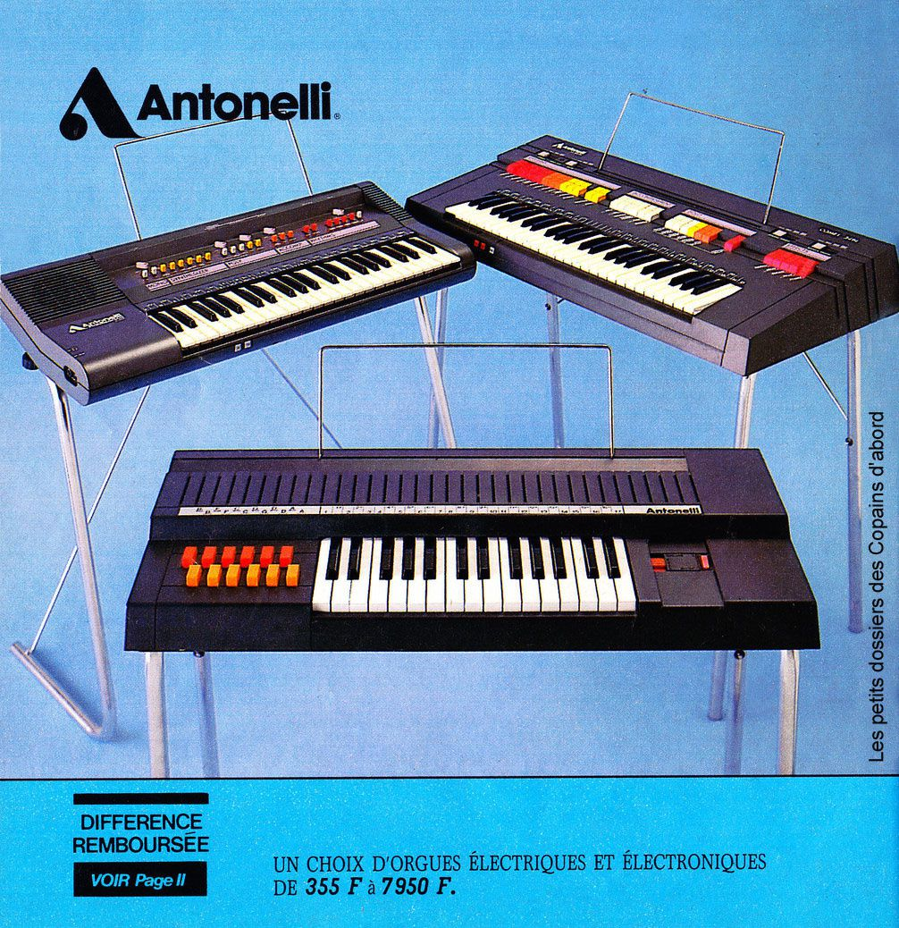 Le catalogue de jouets BHV de 1984 par Nath-Didile