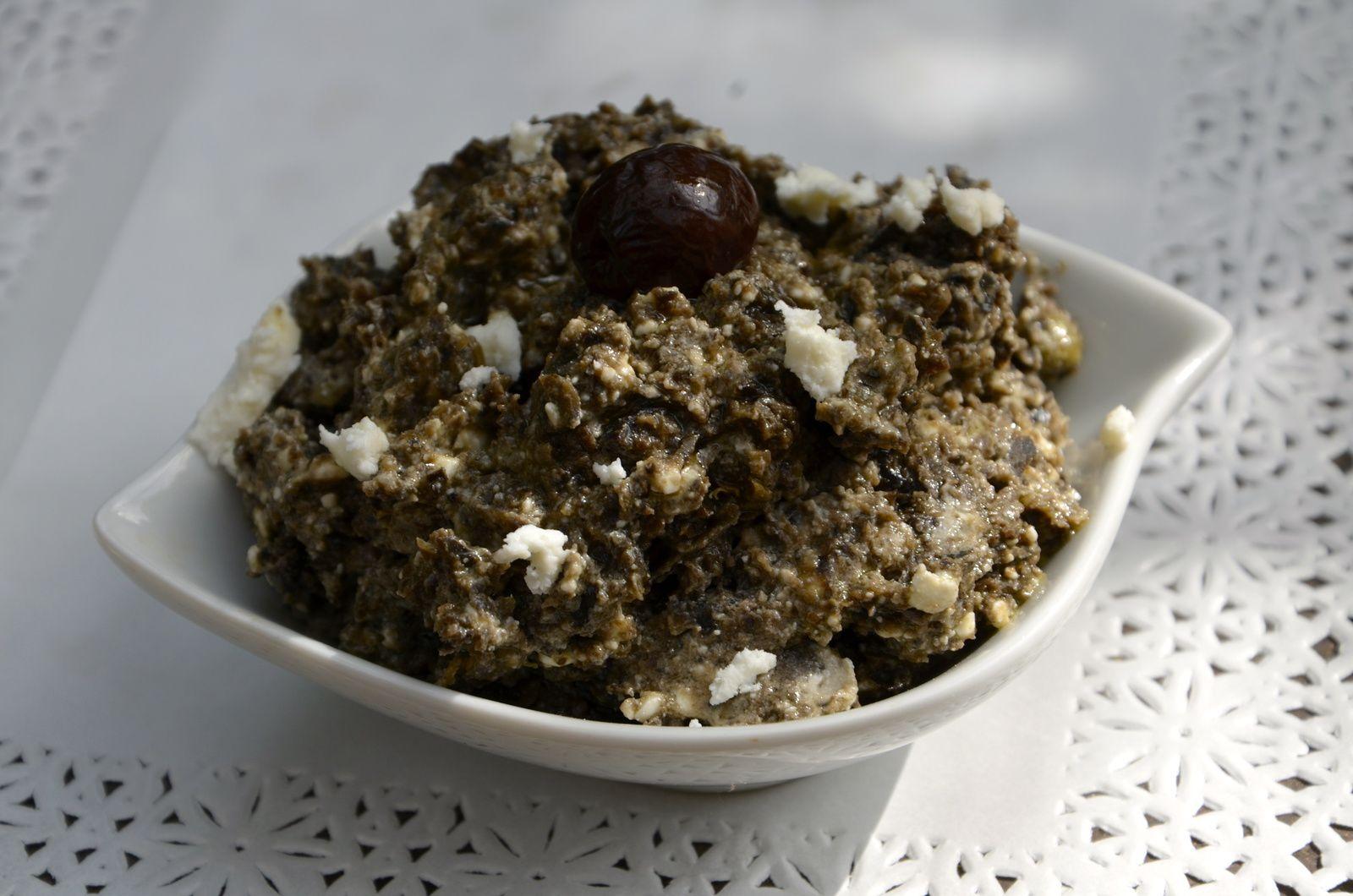 Crème d'olive à la feta