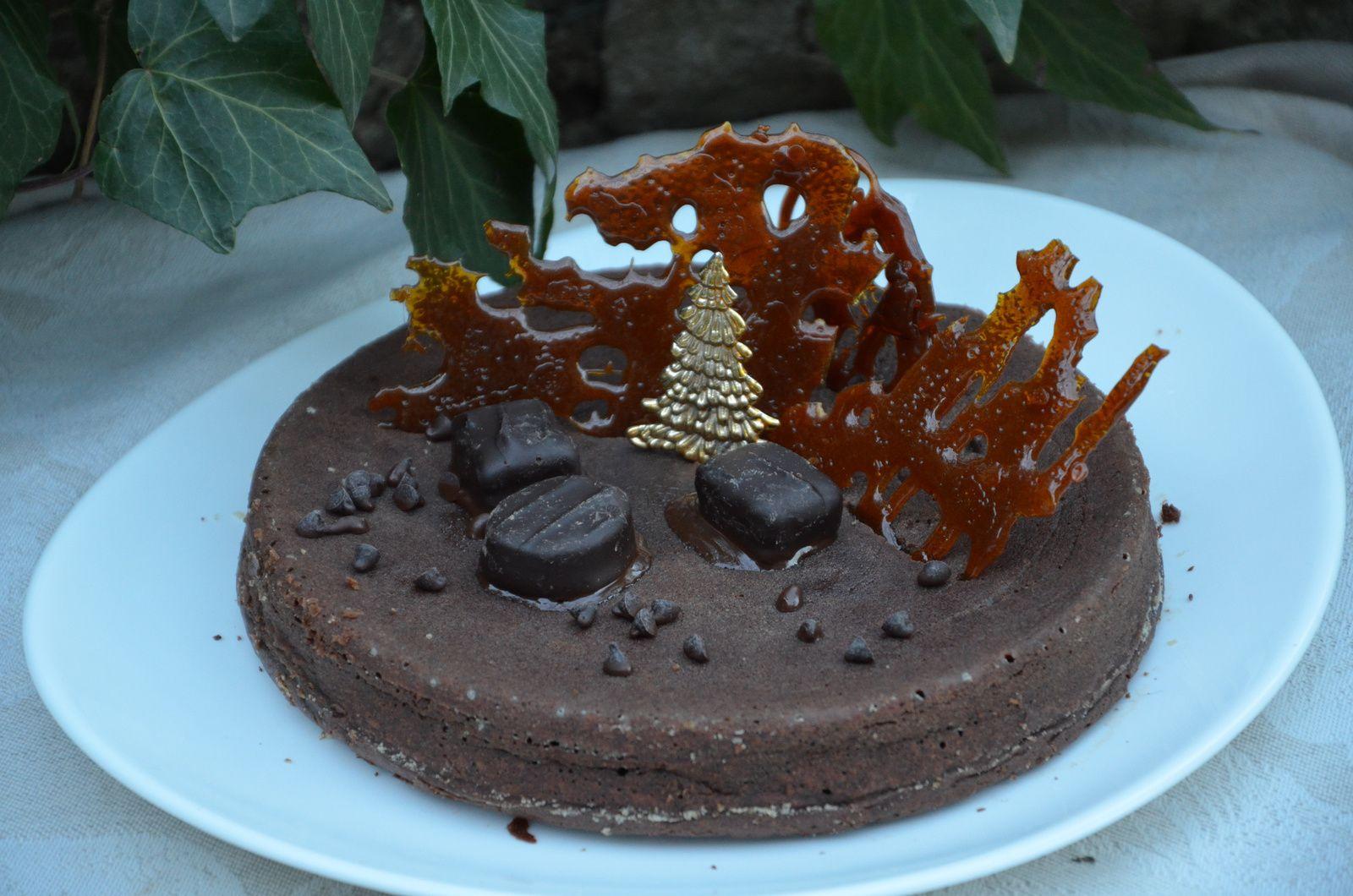 Fondant chocolat-marrons