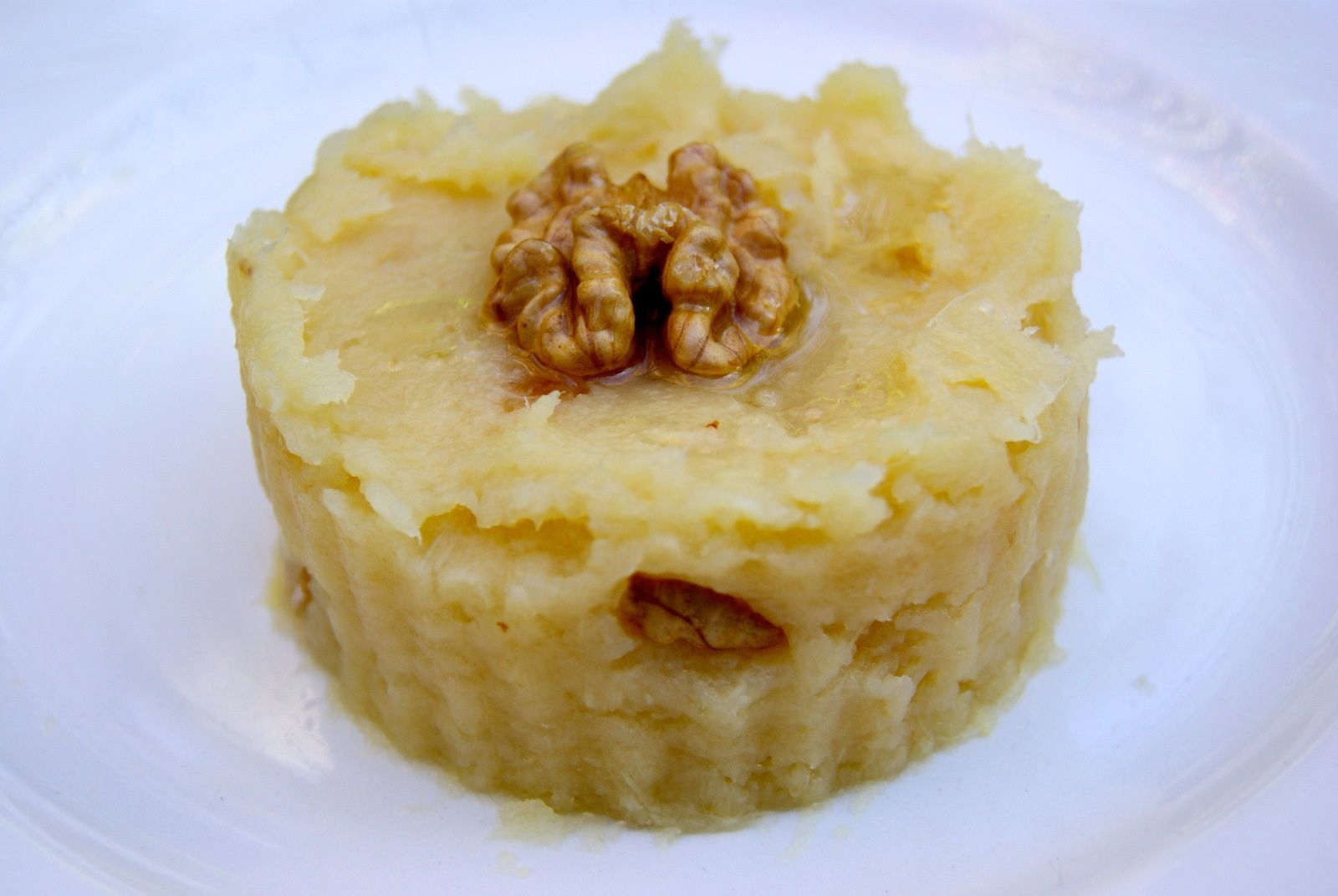 Ecrasé de pommes de terre aux noix
