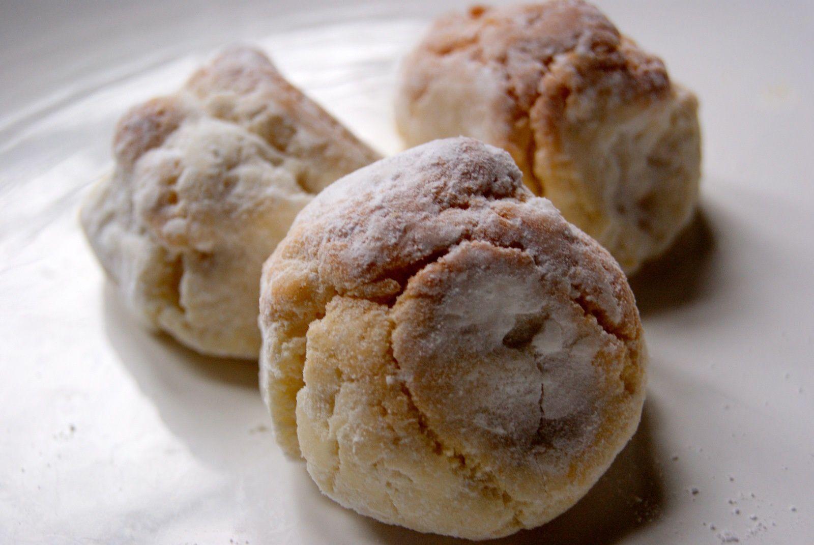 Amaretti (ou macarons siciliens)