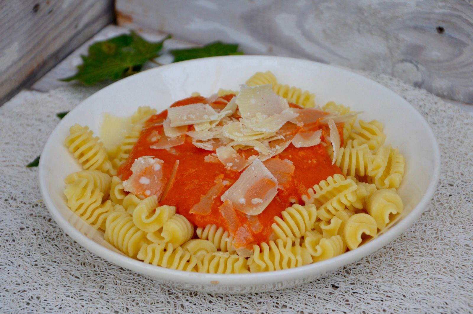 Radiatori sauce tomates/poivrons