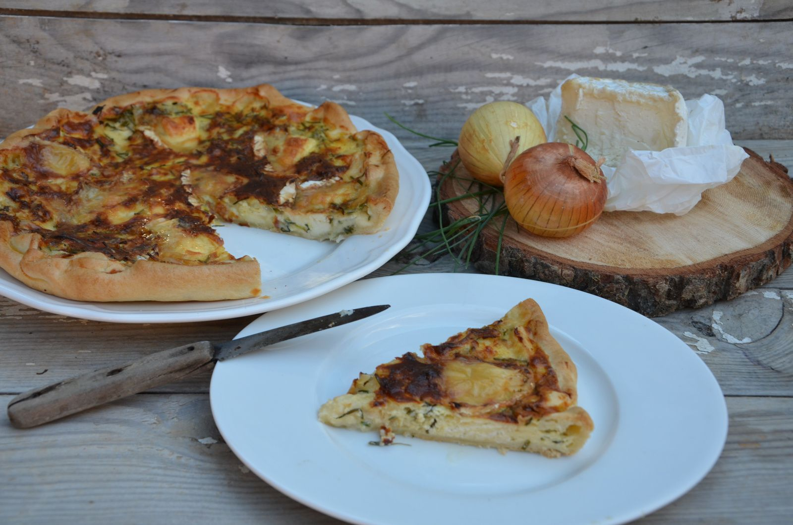 Quiche au Chaource