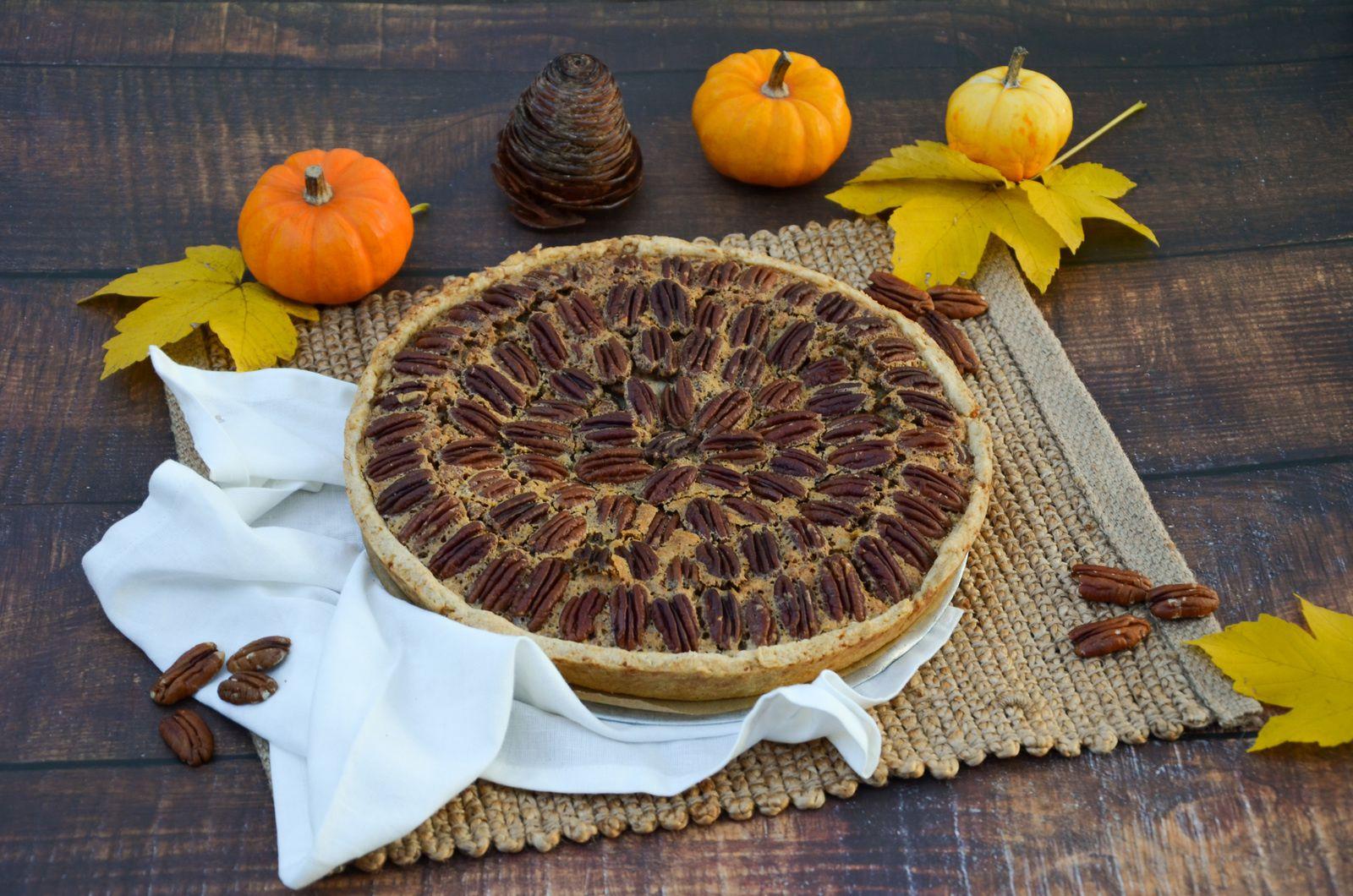Pecan pie (tarte aux noix de pecan)
