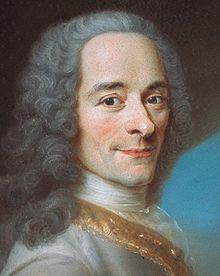Voltaire, Rousseau, D'Alembert