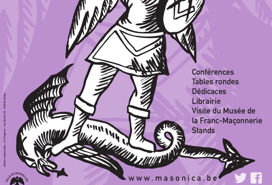 Salon du Livre Masonica - Bruxelles 26 avril