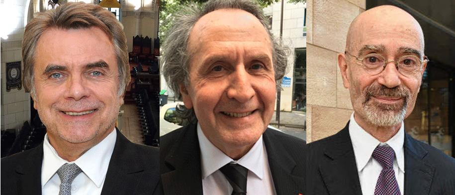 Les 3 derniers Grands-Maîtres de la GLDF