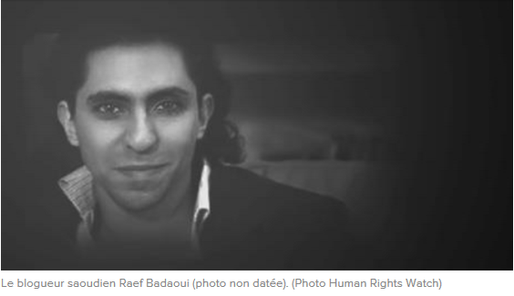 Il faut gracier le blogueur saoudien Raif Badawi