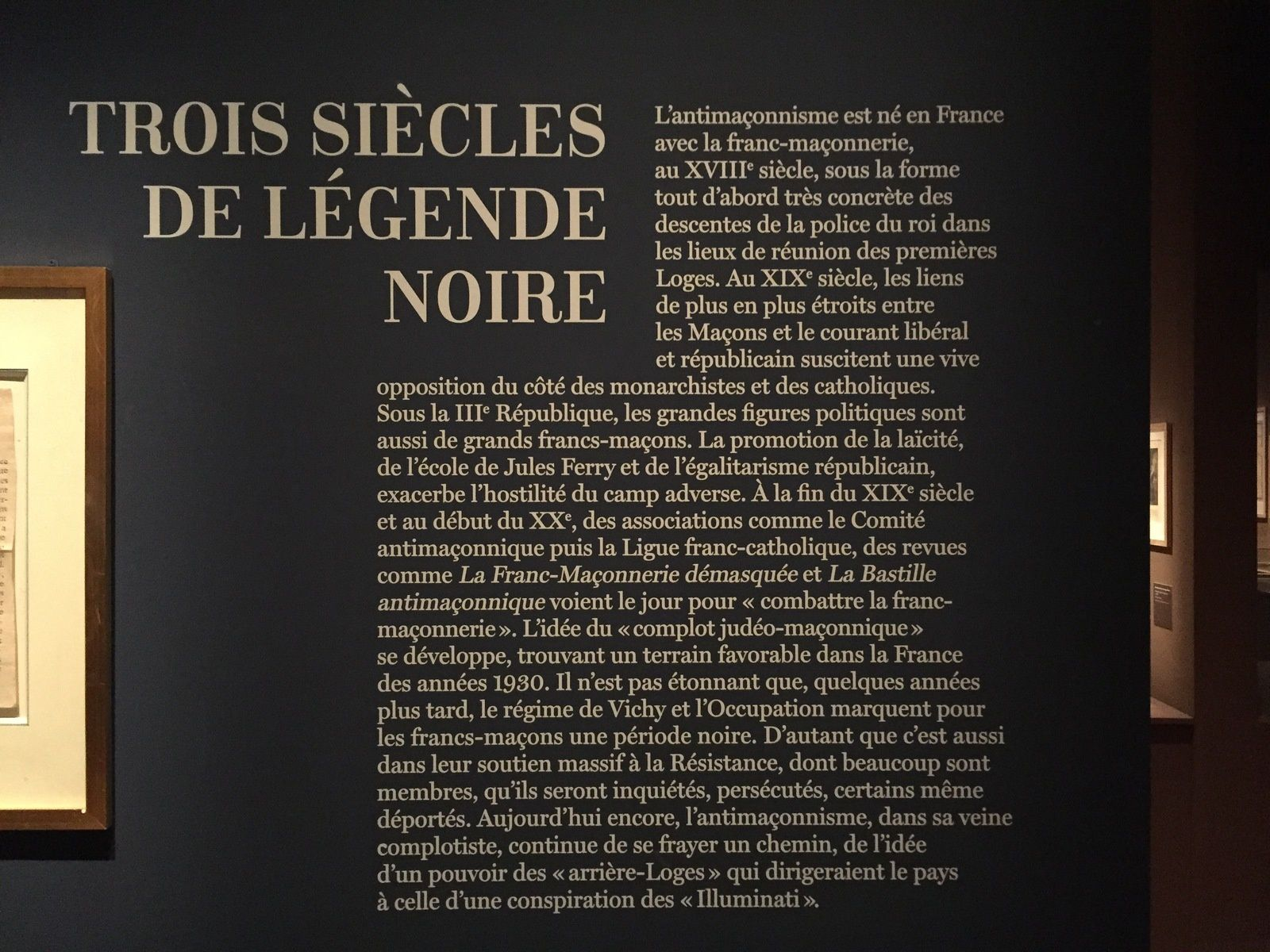 L'exposition indispensable...