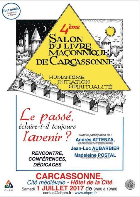 Carcassonne. Le 4° Salon du Livre Maçonnique 2017