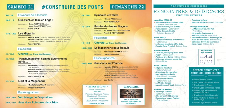 4° biennale de Bordeaux, 21 et 22 avril 2018 - # Construire des ponts