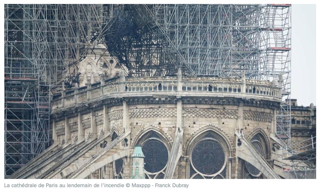 Pourquoi il faut s'unir pour rebâtir Notre Dame de Paris...