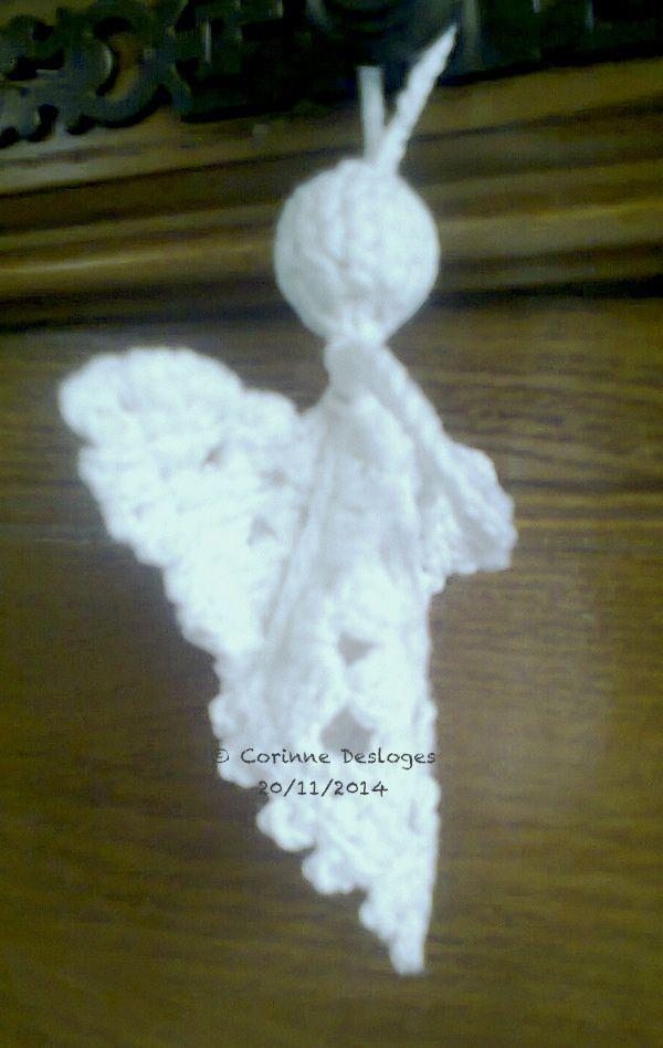 CROCHET : l'ange blanc