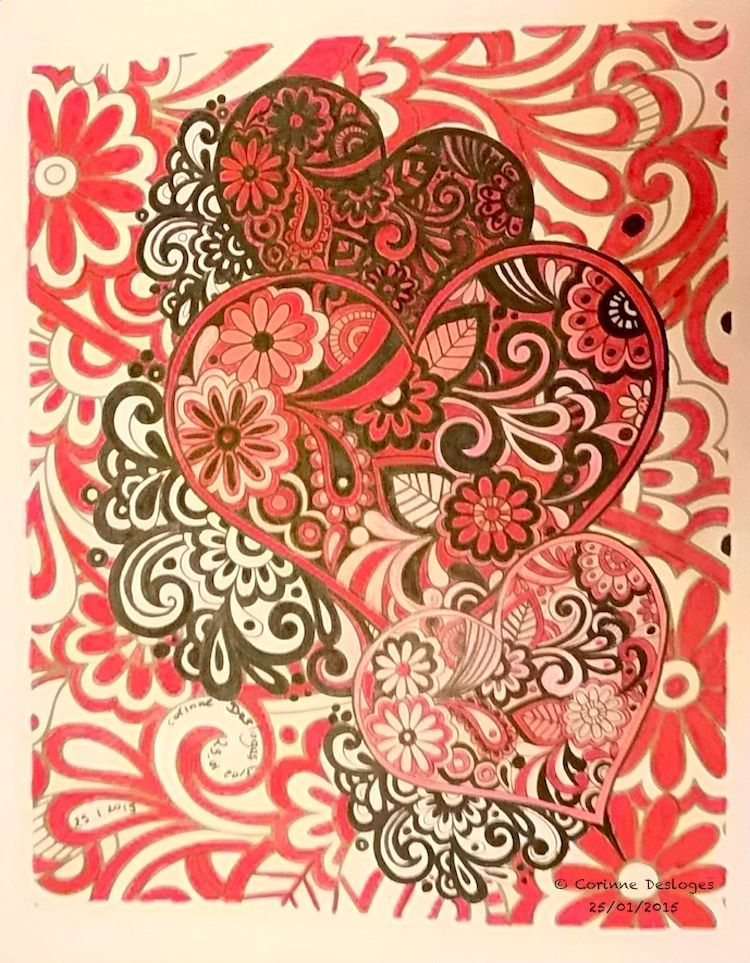 COLORIAGE : all you need is Love
