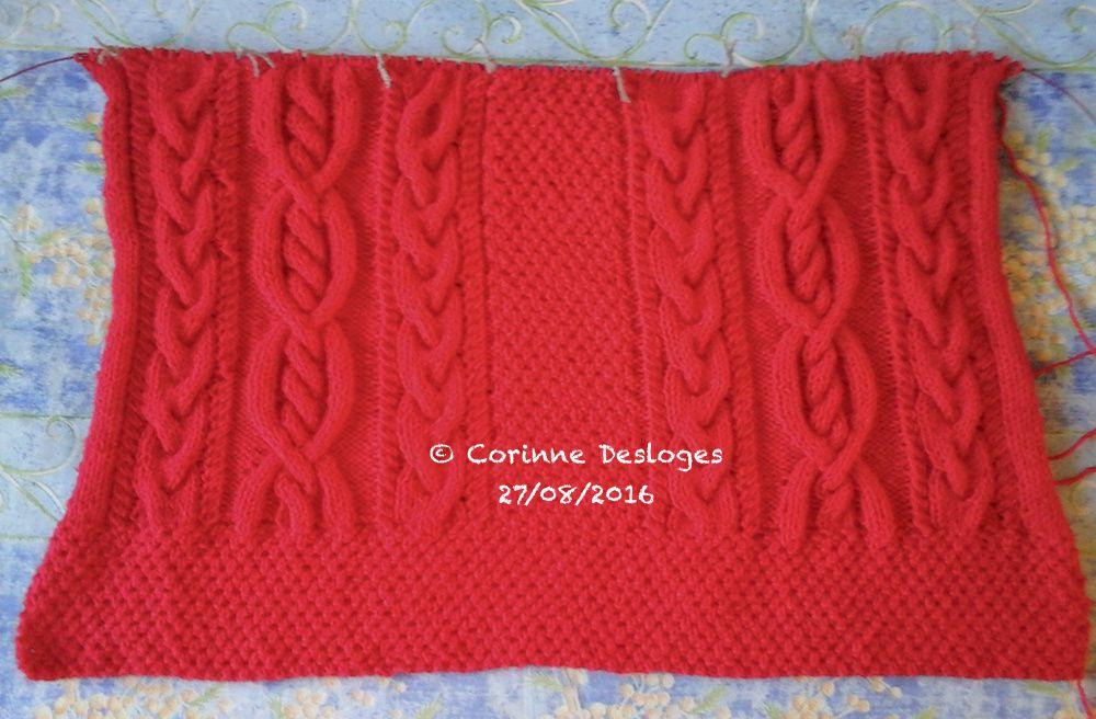 """TRICOT : veste """"Chaperon rouge"""" 4. Faire et défaire..."""