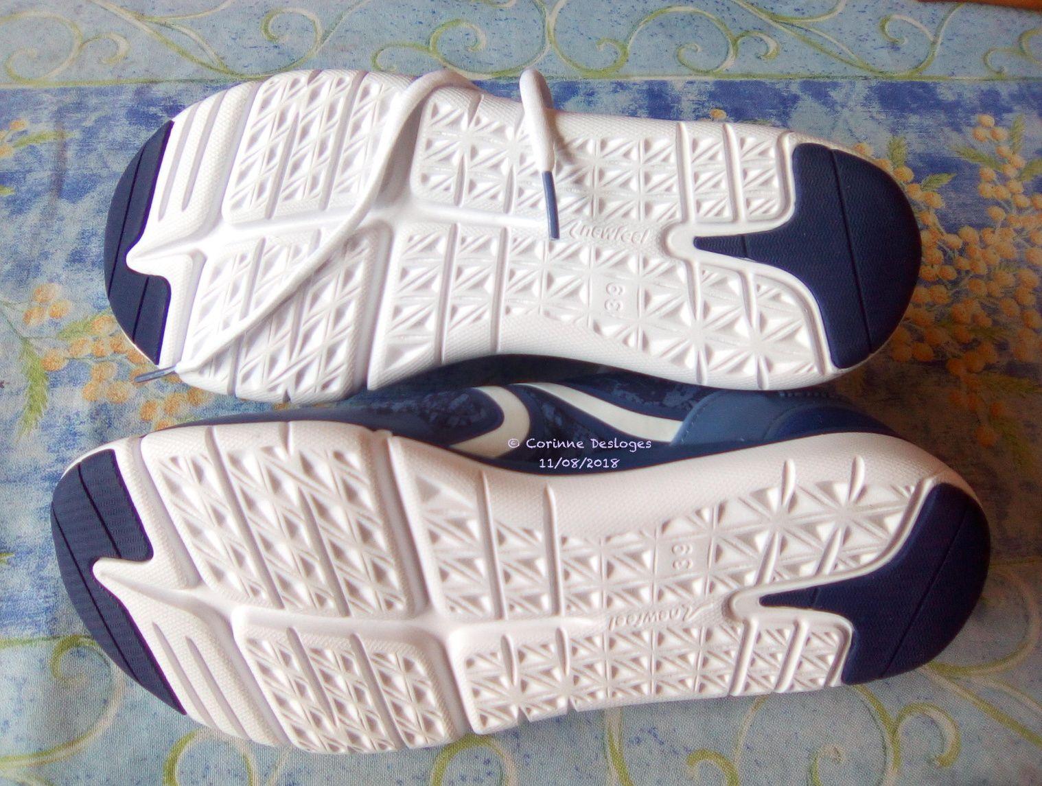 Mes nouvelles chaussures de marche