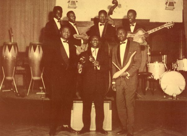 L'African-Jazz, lors de la Table ronde de Bruxelles