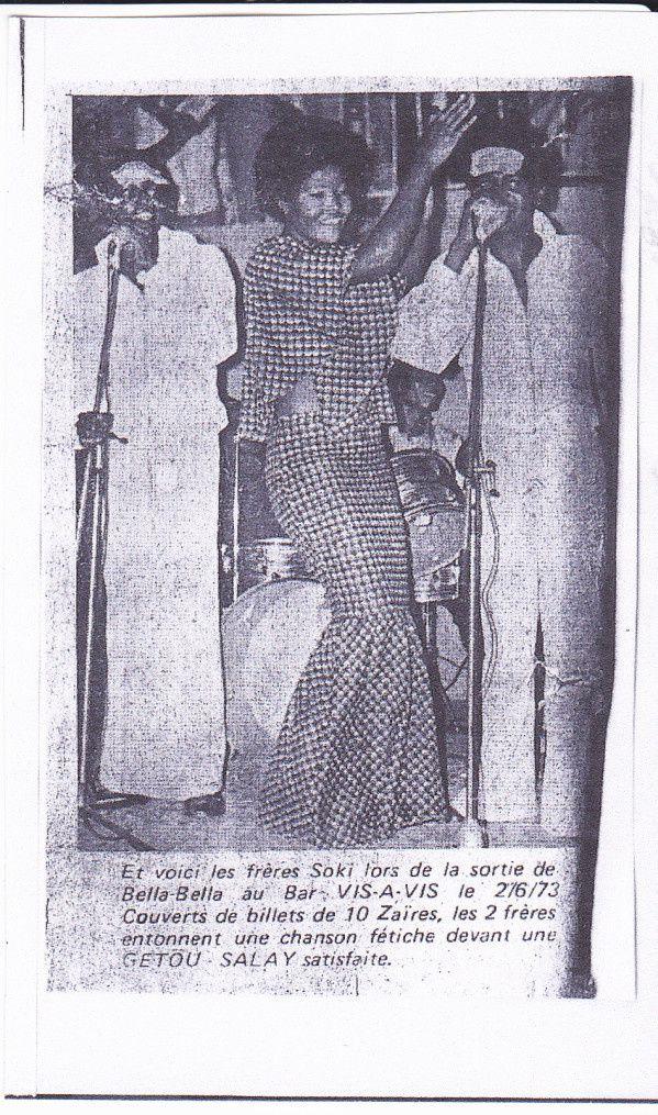Getou Salay, entre les deus frères Soki