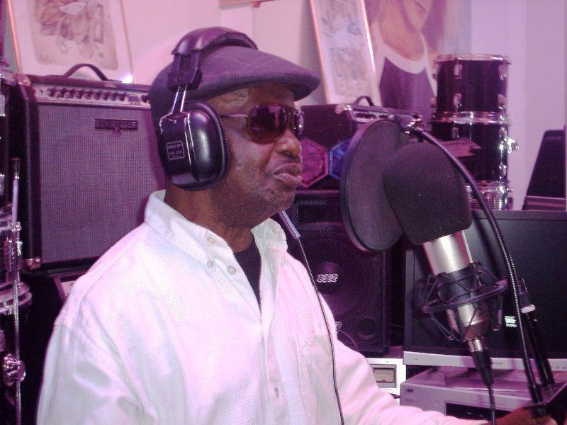 Tony Dee Bokito, un des chanteurs de l'Afro-Negro