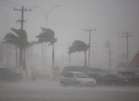 L'image d'une tempête tropicale