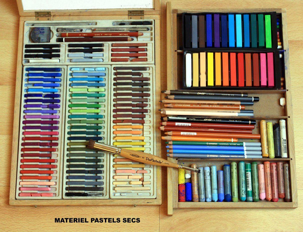 le pastel sec les bases du dessin et de la peinture. Black Bedroom Furniture Sets. Home Design Ideas