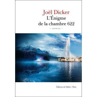 Joël Dicker, L'énigme de la chambre 622