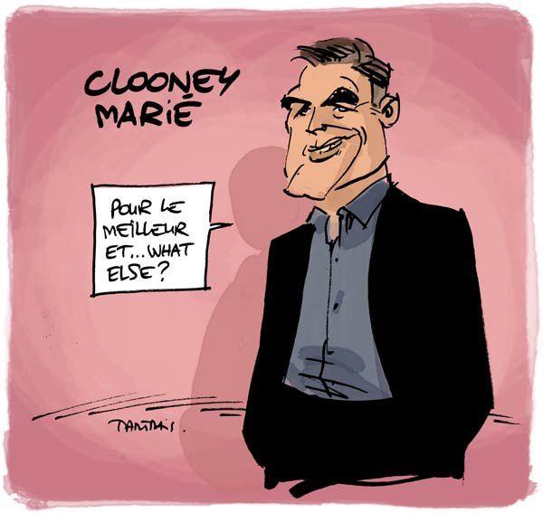 Clooney marié