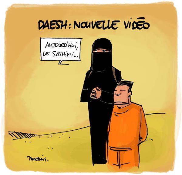 Daesh : nouvelle vidéo