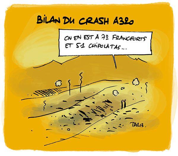 Bilan du  crash A320