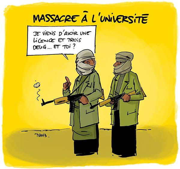 Massacre à l'université