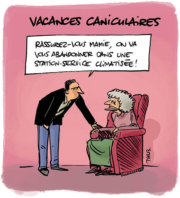 Vacances caniculaires
