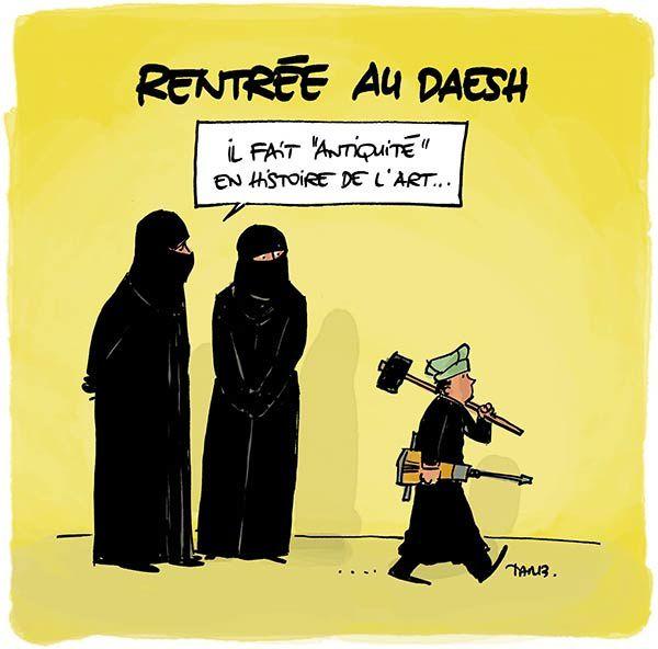 Rentrée au Daesh