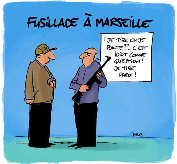 Fusillade à Marseille