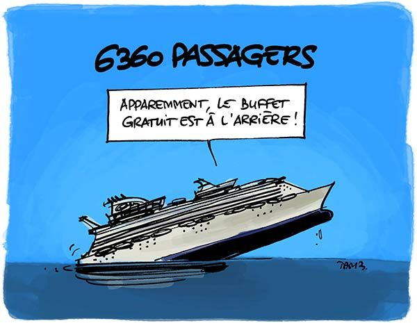 6360 passagers : plus grand paquebot du monde