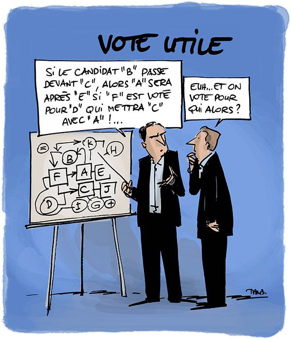 La difficile arithmétique du vote utile