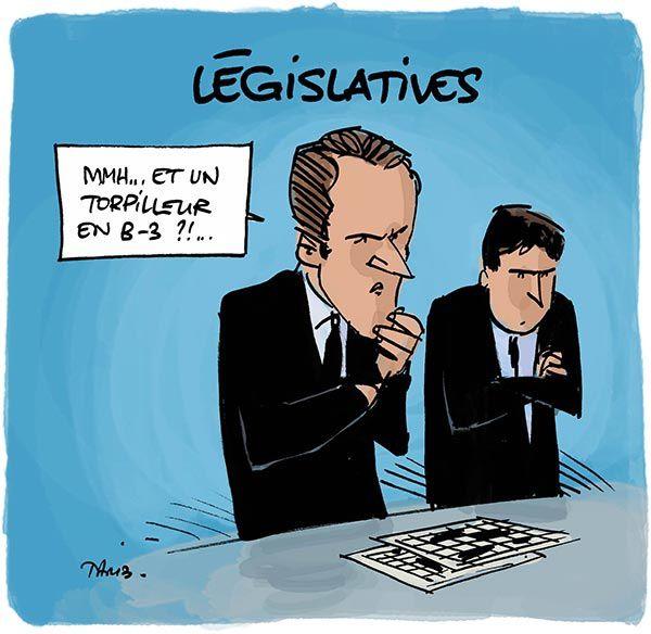 La bataille des législatives, c'est compliqué.