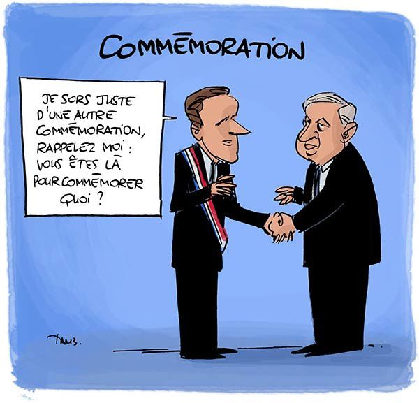 Profession commémorateur