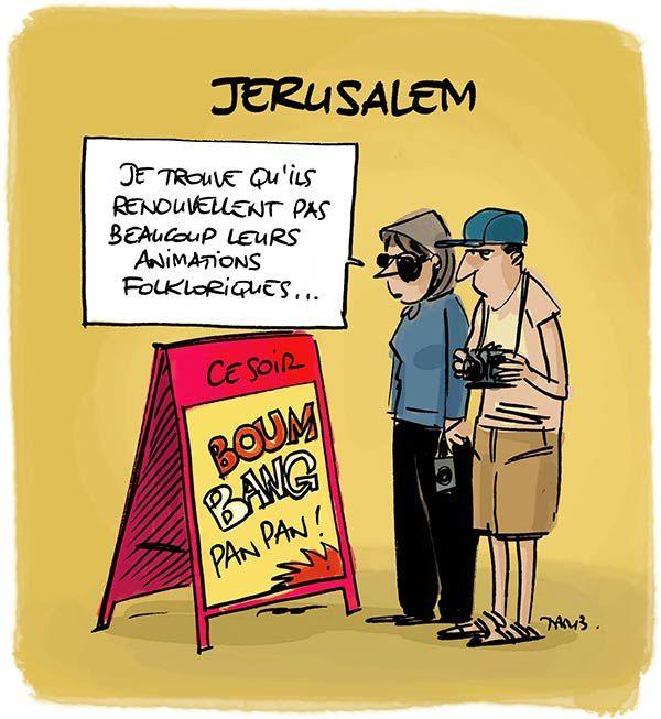 Saison estivale à Jérusalem