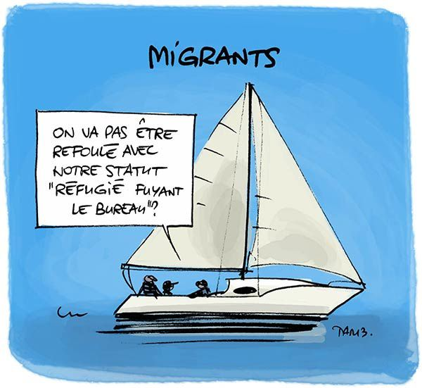Attention, départ imminent de migrants !