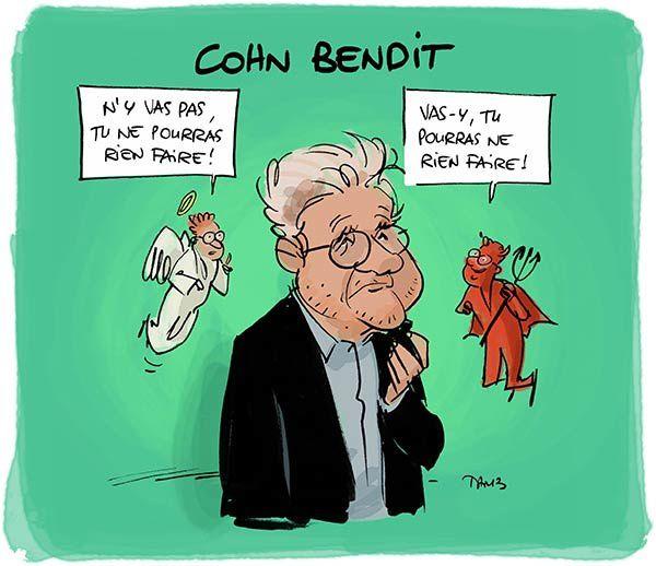 Pas de dilemne pour Cohn Bendit